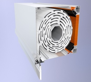 EL 9000 Thermo Rolling Shutters